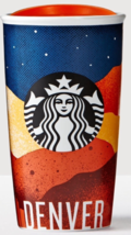 Starbucks 2016 Denver Local Collection Double Wall Ceramic Tumbler NEW - $99.00