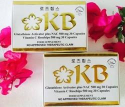 2 SETS KB Kyusoku Bihaku Bleaching /Whitening Pills- AUTHORIZED DISTRIBUTOR - $155.84