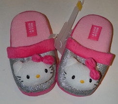 Hello Kitty Girls Slippers Size 13/1 or 2/3  NWT - $9.09