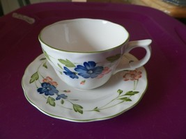Nikko Bordeaux cup and saucer 10 available - $4.36