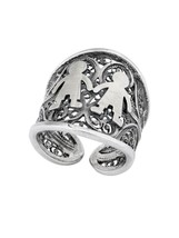 Rings portuguese filigree, sterling silver (PAN24) with 2x boys - £45.58 GBP
