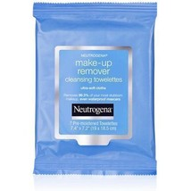 Neutrogena Makeup Remover Cleansing Towelettes 7 Pre-Moistened Wipes Travel Size - $2.99