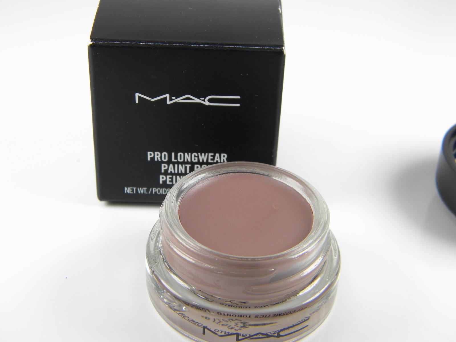 Mac paint pot pro longwear stormy pink 5g 17oz boxed for Mac pro longwear paint pot painterly