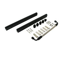 Top Street Performance 81009-BK Black Fuel Rail with Middle Pipe