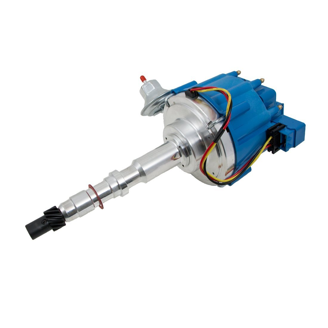 Top Street Performance JM6512BL HEI Distributor with Blue OEM Cap (50K Volt C...