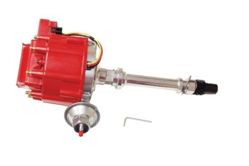 Proheader PE322R - Chevy HEI V8 Distributor with Adjustable Vacuum Advance 50...