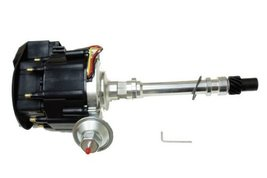 Proheader PE350B - Chevy HEI V8 Vacuum Advance Distributor with 65k Coil & Bl...