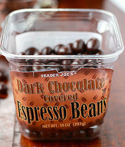 Trader Joe's Dark Chocolate Covered Espresso B EAN S - $11.83