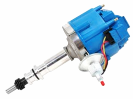 Hei Distributor Ford Inline 6 144-200 Inline 6 With 5/16 Hex Shaft, Blue Cap