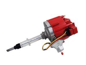 Hei Distributor - Amc Jeep 232-258 6-Cyl Engines, 50K V Coil, Red Cap