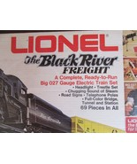 SH/LIONEL BLACK RIVER FREIGHT ELECTRIC TRAIN SET/BOX/TRACK/NOT COMPLETE/... - $98.95