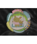 My Happy Baby Soft Cloth Book Cartwheel Scholastic Rattle Crinkle Mirror... - $19.79