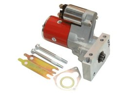 Proheader PE210R - SBC BBC Chevy Starter Gear Reduction High Torque 1.9KW Red...