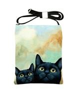 Shoulder Sling bag purse women accessory black ... - $34.99
