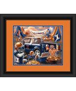 """University of Illinois Fighting Illini """"Tailgate Celebration""""-15x18 Fram... - $39.95"""