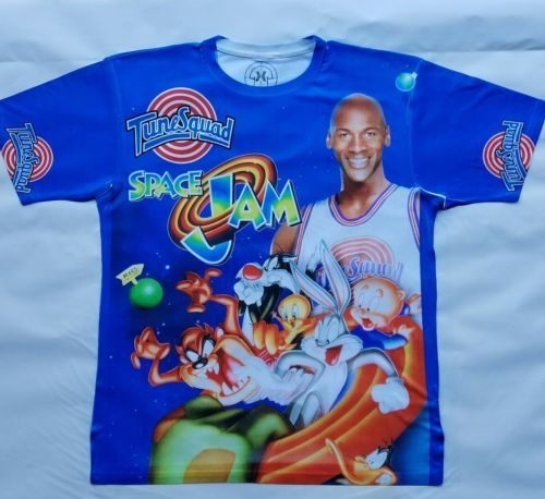 d0085729a2cdb9 Jordan Space Jam T Sublimated shirt bulls and 26 similar items. 12
