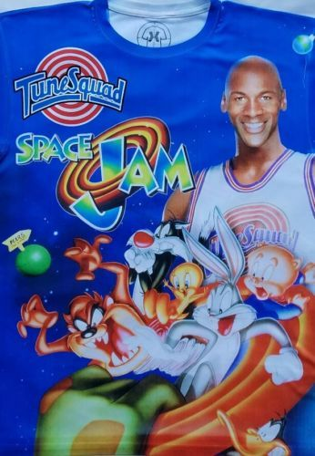 46f126f2bf1406 Jordan Space Jam T Sublimated shirt bulls toon squad basketball