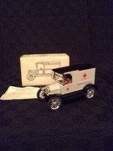 ERTL 1917 Model T Replica American Ambulance Diecast Bank 1131 Hospital ... - $22.43