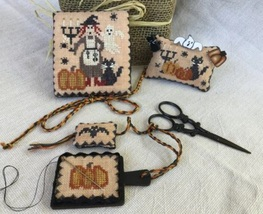 The Bewitched Sewing Set halloween cross stitch chart Mani di Donna - $20.00