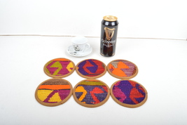 kilim coasters,rug coasters,coasters,drink coasters,handmade coasters,gi... - $29.00
