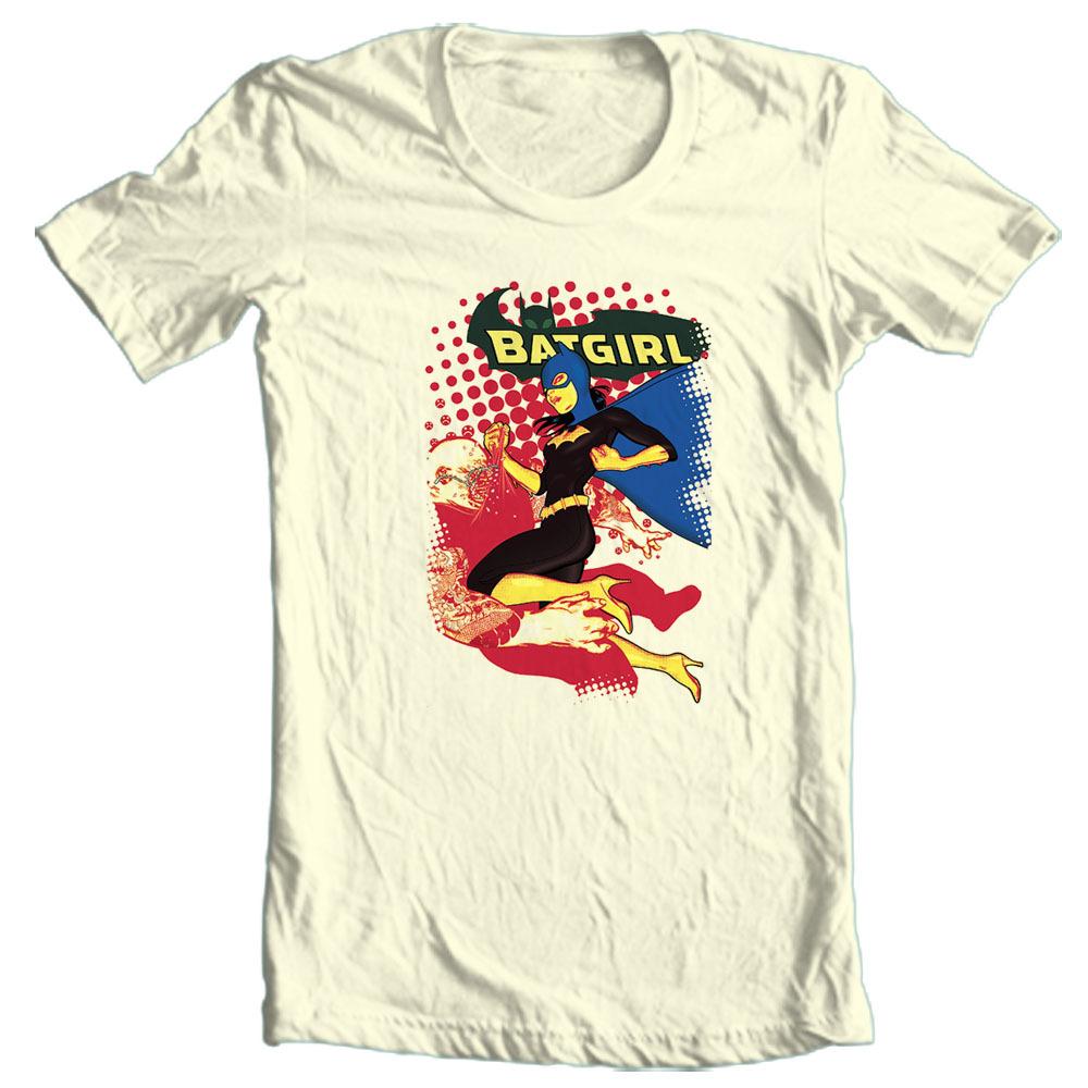 Bat girl bat man dc comics t shirt