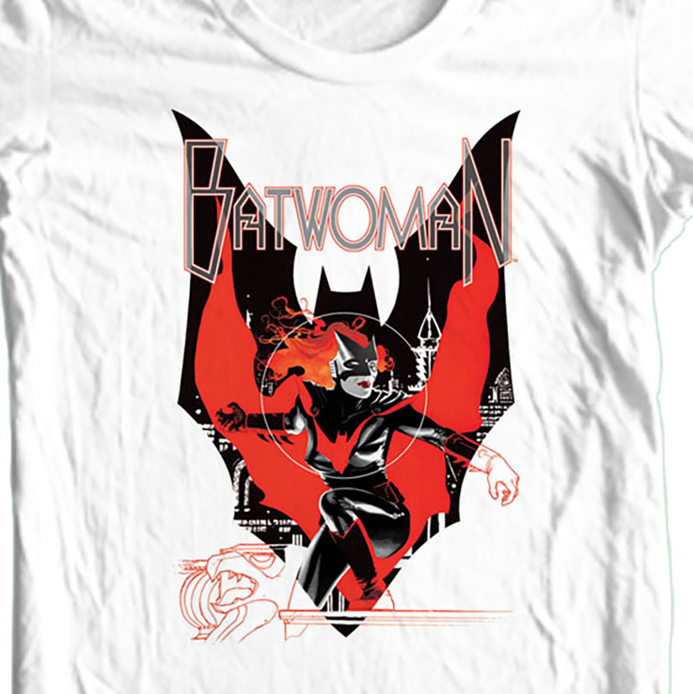Bat woman graphic t shirt bm1953