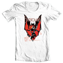 BAT-WOMAN T-shirt DC comic book Bat-Man superhero 100% cotton graphic tee BM201 image 2