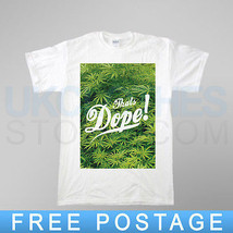 Its Dope  Weed Trapstar 40 Oz Obey Wasted Hype Fabric Comme Des Rap  T Shirt - $20.06