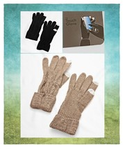 Women's Cable Knitted Phone Touch Screen Winter Gloves - $159,32 MXN