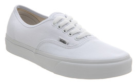 Vans Classic Unisex Authentic Skate Shoe True White - $50.00