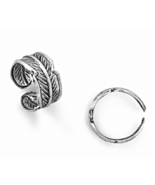 Oxidized Antique Look Solid Sterling Silver Ear... - $19.95