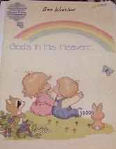 God's In His Heaven... Boook 22 Cross Stitch - $8.00