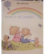 God's In His Heaven... Boook 22 Cross Stitch - $8.00