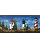 Lighthouse WT1122 Wallpaper Border - $16.99