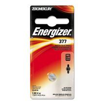 Energizer Watch/Electronic Battery, SilvOx, 377, 1.5V, MercFree - $26.55