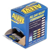 Aleve Pain Reliever Single Dose Packets, 50 Pac... - $51.78