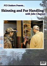 PcsOutdoors Skinning and Fur Handling DVD with ... - $29.95