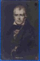 M113853 / Art - SCOTT Walter - Scottish Novelist POET WRITER postcard Se... - $12.24