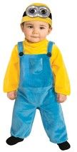 Toddler Minion Bob Costume/Fits 3T-4T/Rubies/Licensed Universal Studios - $27.71