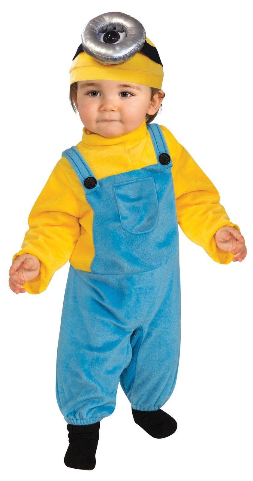 Toddler Minion Stuart/Stewart/Fits 3T-4T/Rubies/Licensed Universal Studio