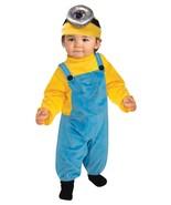 Toddler Minion Stuart/Stewart/Fits 3T-4T/Rubies/Licensed Universal Studio - $37.11 CAD