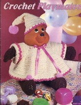 Crochet Playmates 10 Designs Doll Outfits PATTERN - 30 Days to Shop & Pay! - $3.57