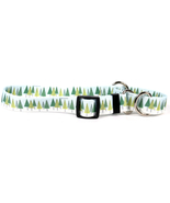 Medium Winter Trees Martingale Dog Collar 20 inch - $11.99 - $12.99