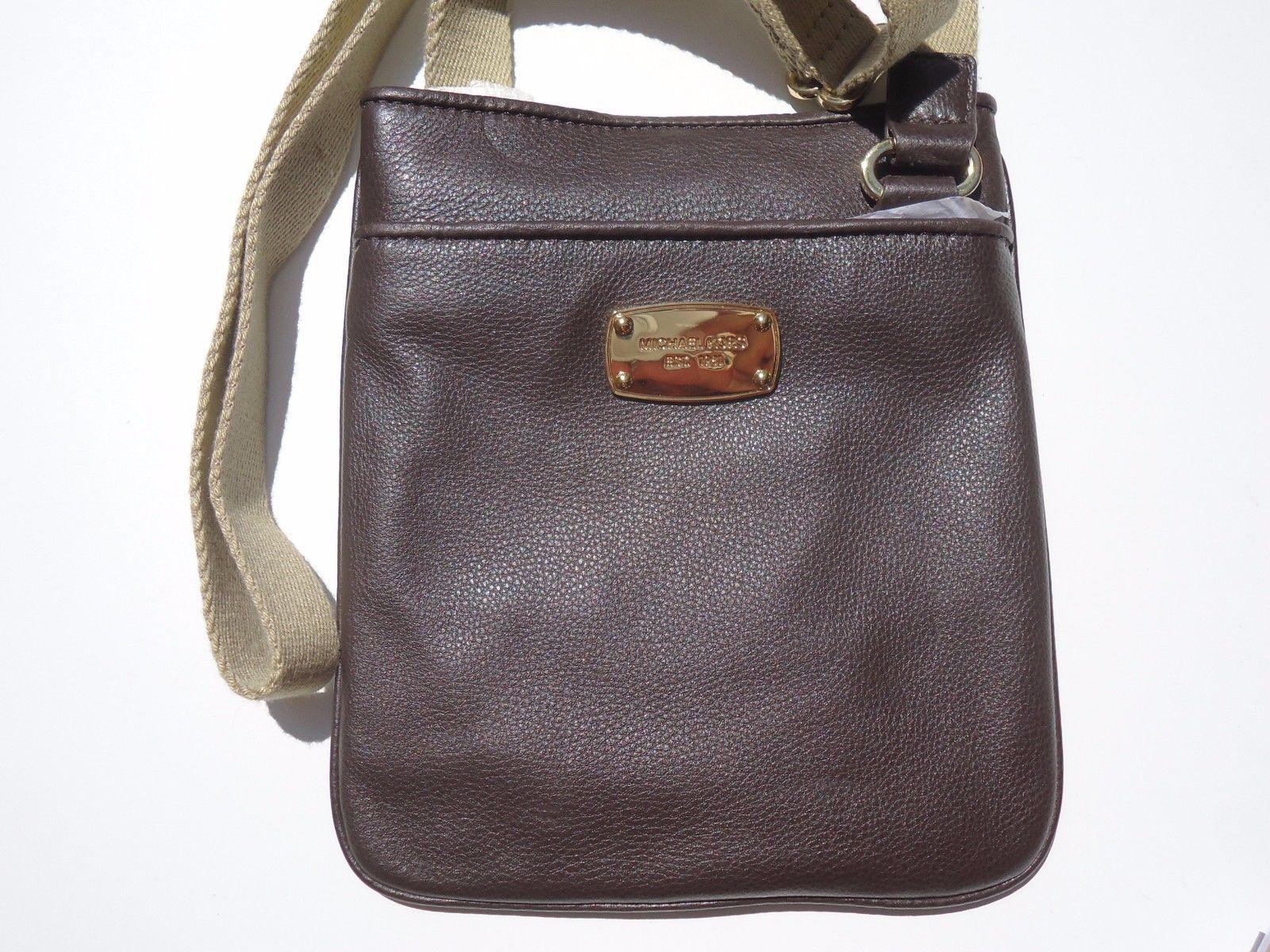 51252584df19 NEW! $158 Chocolate MICHAEL KORS Genuine and 50 similar items