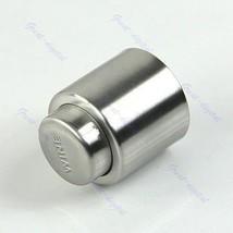 New Stainless Steel Reusable Freshen Vacuum Sealed Wine Bottle Stopper - $3.49