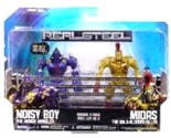 Jakks Pacific Real Steel Movie Basic Action Figure 2Pack Noisy Boy Vs. Midas by