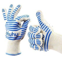 NEW Ohuhu Oven Gloves/ Oven Mitt / BBQ Gloves with Long Cuffs HOME/Kitchen - $23.20