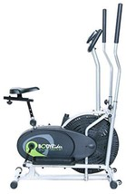 Eliptical Trainer Excercise Bike Gym Workout Electric Flywheel Fan Cardi... - $310.56