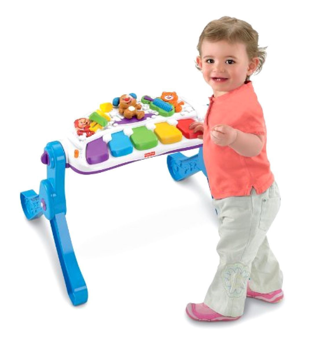 Toys Games Fisher-Price Laugh & Learn Learn & Move Music Station for sale  USA