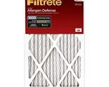 Filtrete Micro Allergen Defense Filter, MPR 1000, 20-Inch x 25-Inch x 1-Inch, 6-